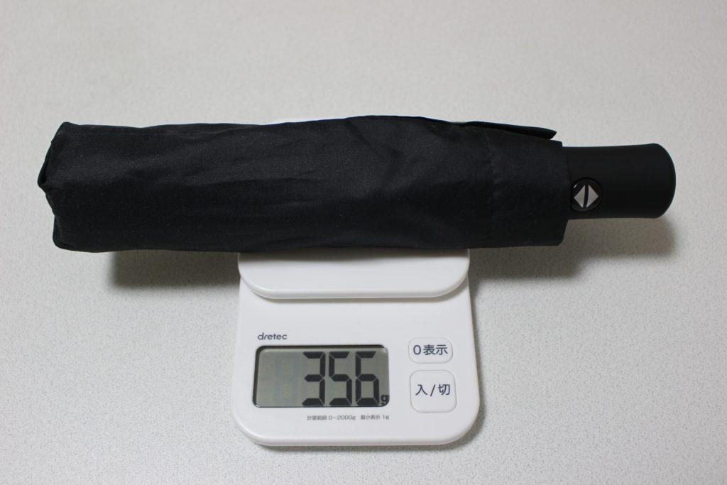 重量約356g
