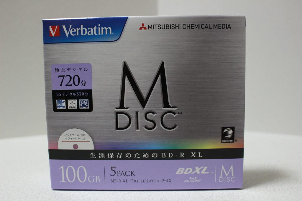 VerbatimのM-DISC
