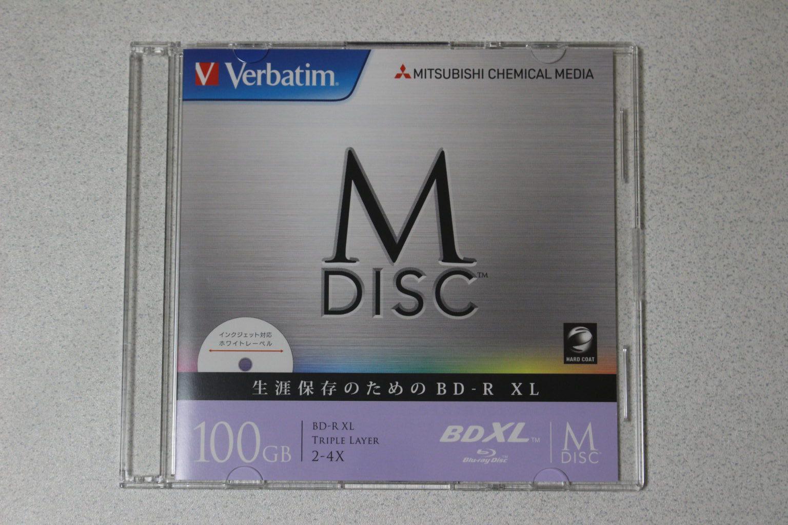 1枚のディスクケース
