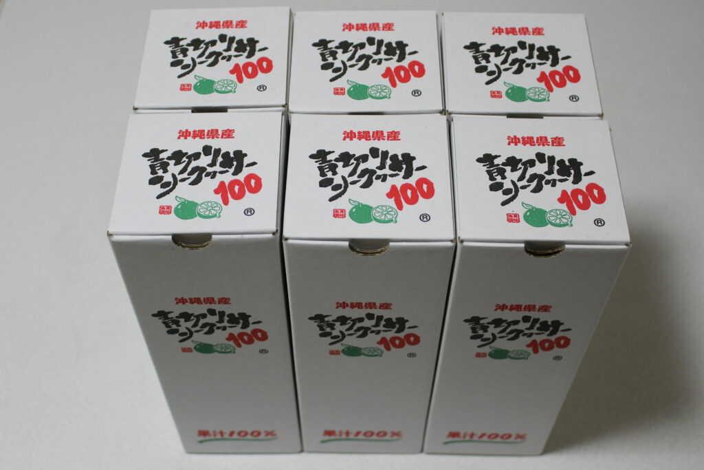 6箱のジュース