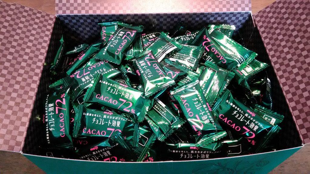 箱いっぱいのチョコレート