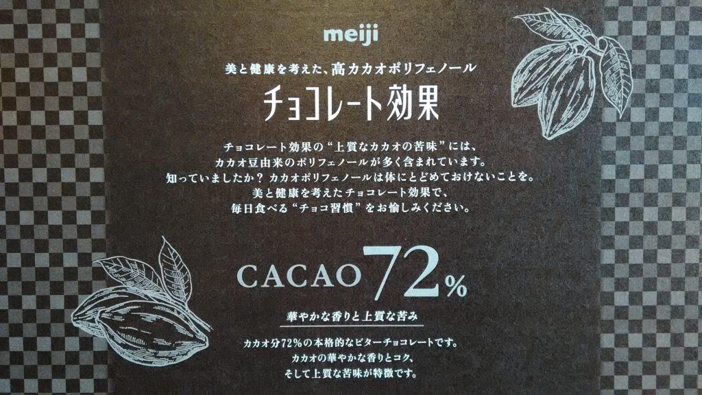 チョコレート効果の説明