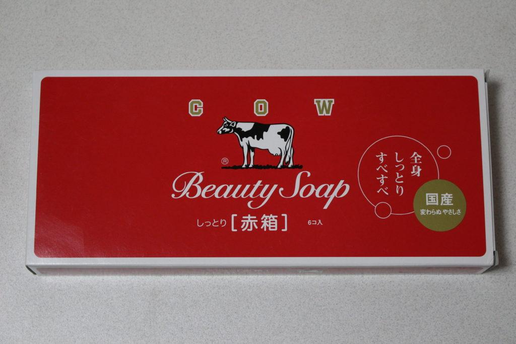 化粧石鹸カウブランド赤箱