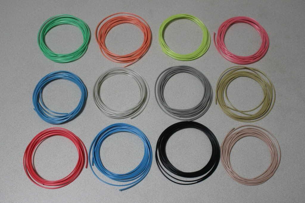12色のフィラメント