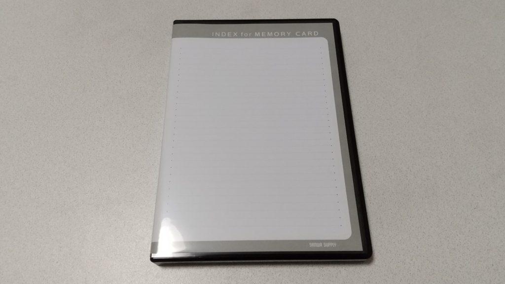 インデックスジャケットを装着したカードケース