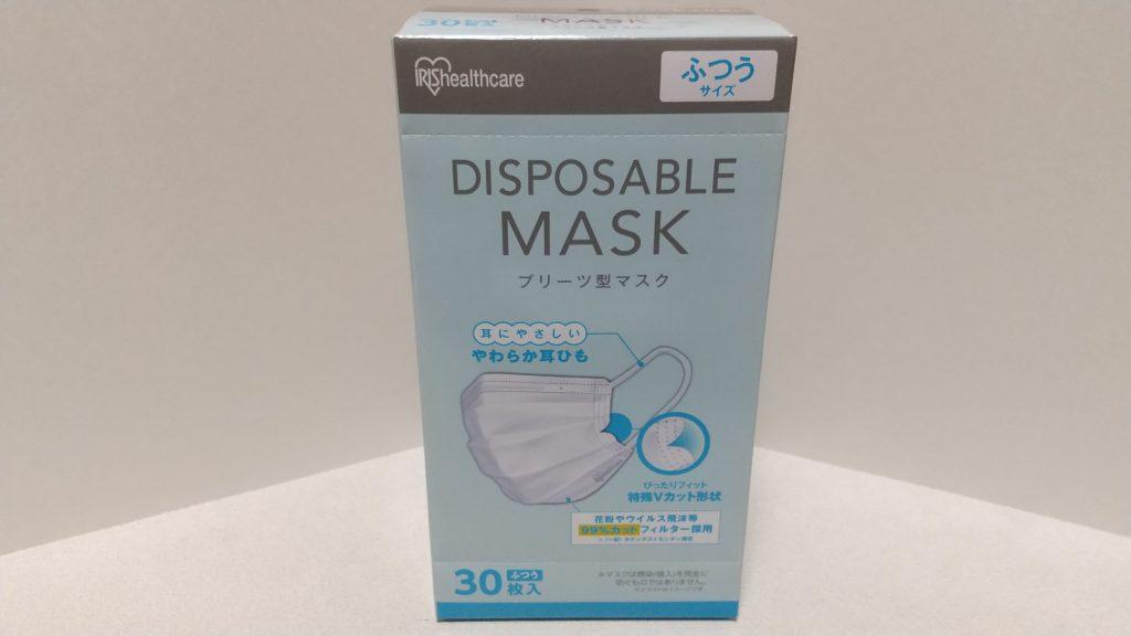 DISPOSABLE MASK プリーツ型マスク