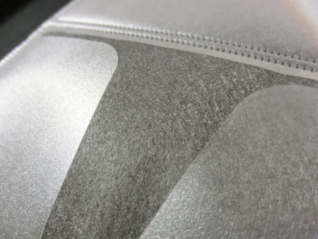 凹凸の少ない不織布