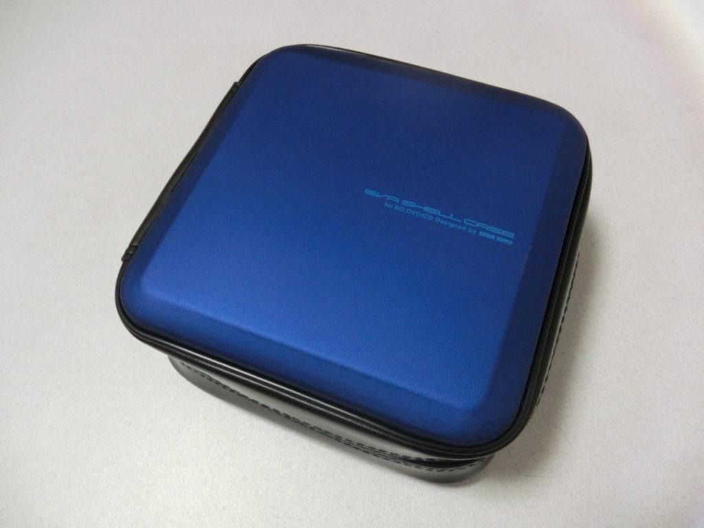 ブルーのケース