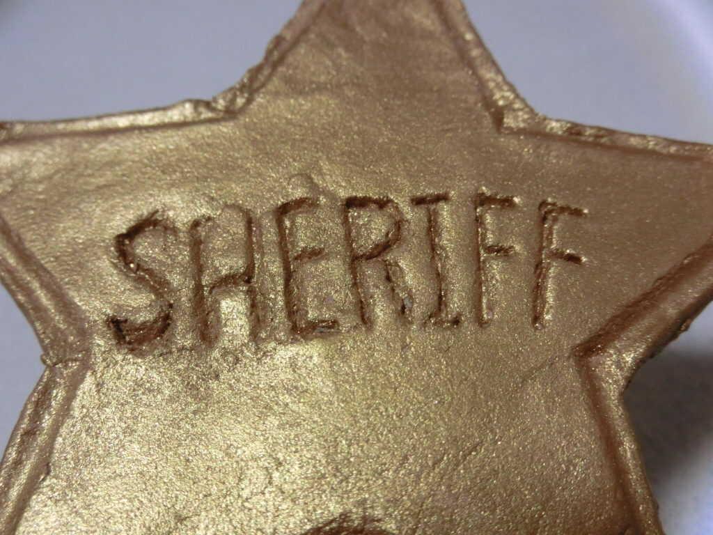 SHERIFFの文字