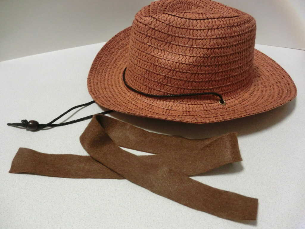 帽子とフェルト